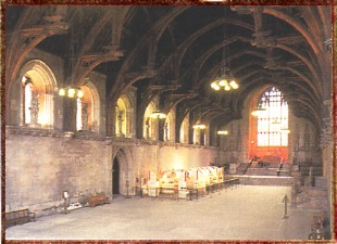 Great Hall at Westminster Palace